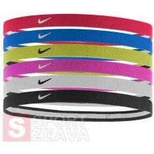 Nike SWOOSH SPORT HEADBANDS 6PK 2.0 N.JN.D6.951.OS červená 0614e398de