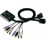 Aten CS-682-AT 2-Port USB DVI KVM Switch, Audio 2.1, Remote port selector (1,8m)