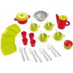 Ecoiffier detský čajový servis a sada nádobí v tašce