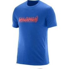 Salomon Park Tech SS Tee M blue yonder 9dea8d8e65