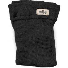 Mile Čierne pančuchy bez trakov M0312