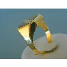 479197885 MARM Design Zlatý pánsky prsteň žlté zlato VP67555Z 14 karátov 585/1000  5.55g