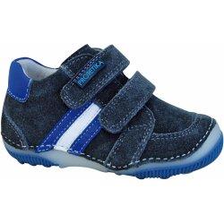 8ef8b71a9c84 Protetika Chlapčenské členkové topánky barefoot Maty šedé ...
