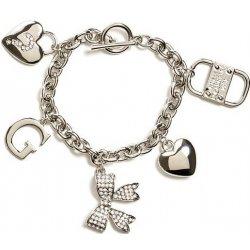 Guess náramok Silver-Tone Charm Bracelet P283162872A alternatívy ... eea376253d4