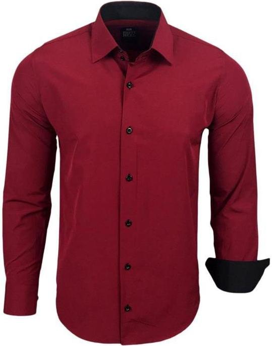 4a9161fc71e9 Pánska košeľa Carisma košeľa pánska 9007 krátky rukáv čierna ...