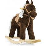 MILLY MALLY Hojdací koník Pony Bruno Hnedá