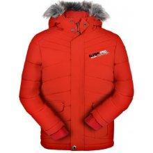 Alpine Pro dievčenská zimná bunda Icybo červená