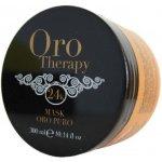 Fanola Oro Therapy mask Oro puro - regeneračná maska na vlasy s 24k zlatom 300 ml
