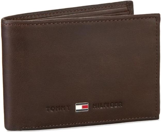 TOMMY HILFIGER Veľká Peňaženka Pánska Johnson Mini Cc Flap And Coin Pocket  AM0AM00662 Black 002 09fa9fcd35b