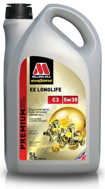 Millers Oils EE Longlife C3 5W-30 5 l - 0