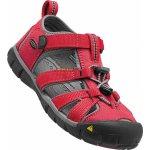 Keen Detské sandále Seacamp II CNX racing red / gargoyle