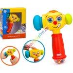 Huile Toys Veselé interaktívne kladivko s fukciami