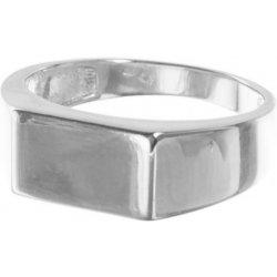 Argento Strieborný prsteň pánsky pečatný Rhodiovaný R63 7254063 od ... e530e42e151