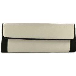 e1ad45438476 Pacomena spoločenská listová kabelka čierno-strieborná alternatívy ...