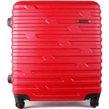 Sicilio Talianske cestovné kufre malé S červené 33 litrov red cw280