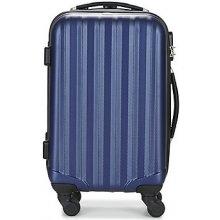 David Jones Pevné cestovné kufre CHAUVETTA 36L Modrá
