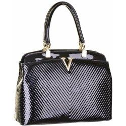 00df285872 luxusná lakovaná kabelka W265 čierna alternatívy - Heureka.sk