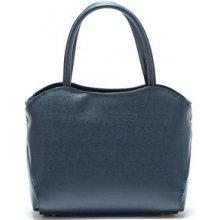 Mangotti kožená kabelka 482 Blu