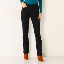 Blancheporte Rovné nohavice s pružným pásom čierna 42f23e39367