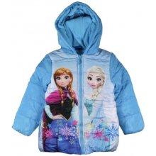 E plus M Dievčenská bunda Frozen modrá