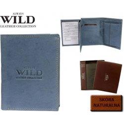 6453c14d7 Wild pánska kožená peňaženka Always Modrá alternatívy - Heureka.sk