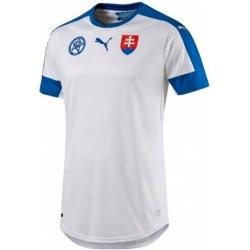 06e6bb61975dd Puma Futbalový dres Slovensko Slovakia EURO 2016 biely od 34,99 ...