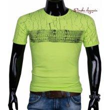 09a34b2e8152 11444-66 Pánske tričko v trendovej farbe