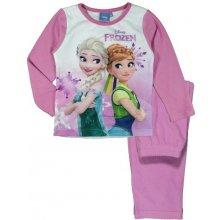 E plus M Dievčenské pyžamo Frozen svetlo ružové