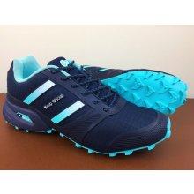 Pánska trailová obuv 3092M4 Navy Modrá
