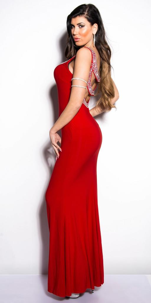 70255b1ee7df Plesové šaty červená - Zoznamtovaru.sk