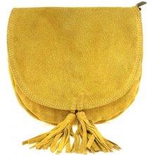 talianska štýlová kabelka okrová cc6dd982a27