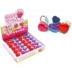 Detské pečiatky prsteň v tvare srdca