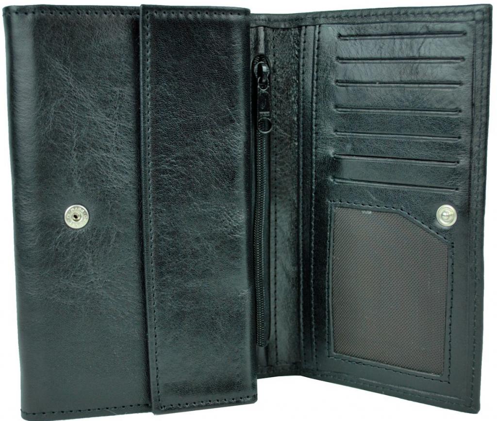 Luxusná kožená peňaženka č.8542 v čiernej farbe alternatívy - Heureka.sk d19bfdecbce