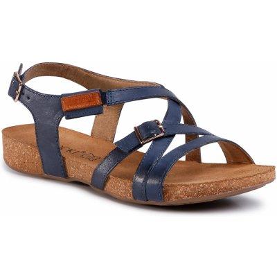Lasocki dámska obuv tmavo modrá