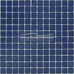 MOSAGRES No-006 Mozaika 30 x 30 cm sklo tmavě modrá