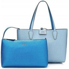 dc827c9c02 Guess dámska obojstranná kabelka 2v1 modrá