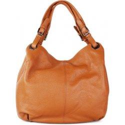 886ab001ce talianske kožené kabelky cez rameno veľké camel Roxana alternatívy ...
