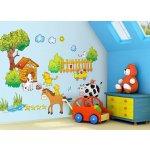 Mint Kitten Samolepky na stenu Farma - 0,3 m2