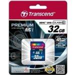 Transcend SDHC Premium 32GB UHS-I U1 TS32GSDU1