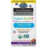 Garden of Life Dr. Formulated organická probiotika pro děti jahoda banán 30 tbl.