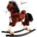 Hojdací koník Milly Mally Mustang Tmavo Hnedý