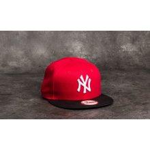 Kids NEW ERA 9FIFTY YOUTH MLB BASIC NEW YORK YANKEES CAP RED BLACK f3bec8e0268