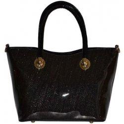 Gallantry Efektní třpytivá kabelka čierna