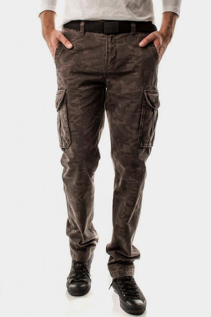 Pánske vreckové nohavice HEAVY TOOLS   FACTOR military od 48 f5fade13cd4