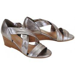2d01be3b6c3e Maria Jaén sandále koža strieborné od 39