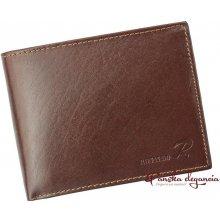 Ronaldo 11538-2 Hnedá pánska kožená peňaženka N992-VT RFID SECURE a05660baaec