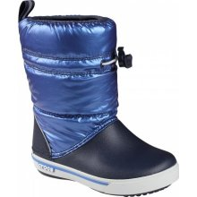 Crocs Crocband Iridescent Gust Boot Kid's Navy/Sea Blue
