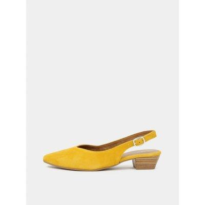Tamaris dámske topánky žlté
