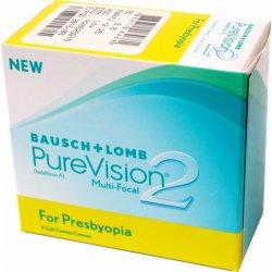 3ff768b52 Bausch & Lomb PureVision 2 for Presbyopia 6 šošoviek od 37,70 ...