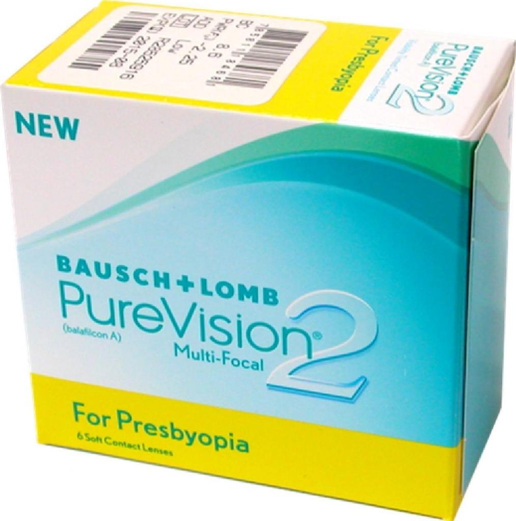 528890be4 Bausch & Lomb PureVision 2 for Presbyopia 6 šošoviek